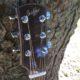 Shaffer Guitar 032 African Mahogany head block