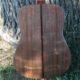 Shaffer Guitar 034 Eastern Black Walnut back with Wenge Wedge Back Strip