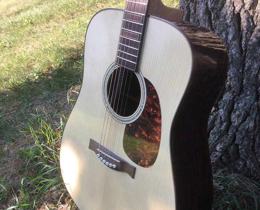 Shaffer Guitar 035 soundboard